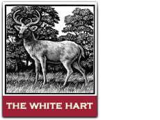 The White Hart Cuxton Logo