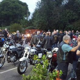 Triumph Owners Annual Meeting at The White Hart Cuxton